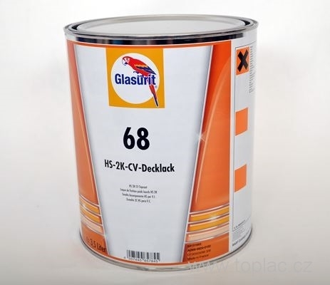 Glasurit 68-T600 - 3,5 ltr