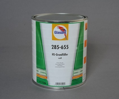 Glasurit HS Filler white 285-655 - 3 ltr